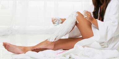 Beine rasieren hassen wir am meisten