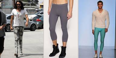 Männer-Leggings sind schlimmster Modetrend