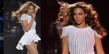 Beyoncé eröffnet Tour in weißer Transparenz