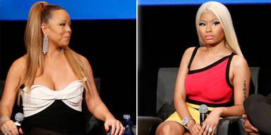 Nicki Minaj & Mariah Carey im Clinch