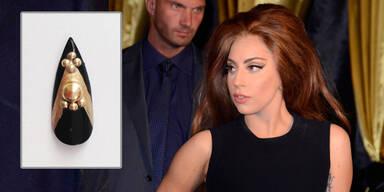 Lady Gagas Nagel um 12 000 $ versteigert