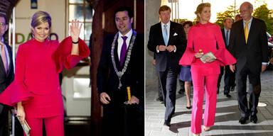 Königin Maxima: Wiederholungstäterin in Gucci