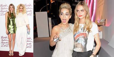 BFFs: Cara Delevingne & Rita Ora