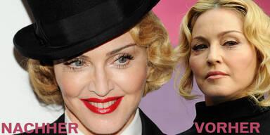 Madonna wieder schön wie eh und je