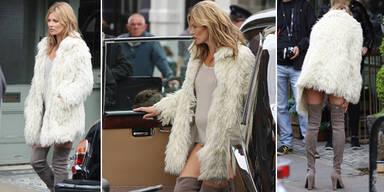 Kate Moss: Unterwäsche? Hose? Nein, danke!
