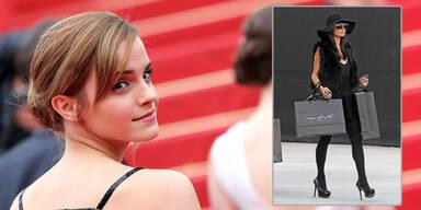 Emma Watson genervt von kaufsüchtigen Frauen