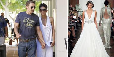Halle Berry: In diesem Kleid sagte sie 'Ja'
