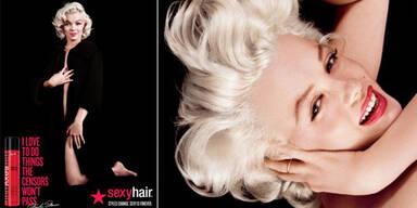 Marilyn Monroe als Werbe-Gesicht
