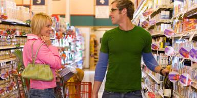 Der Supermarkt als neuer Flirt-Treff