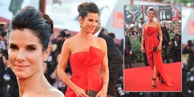 Sandra Bullock strahlt bei Festspiel-Eröffnung