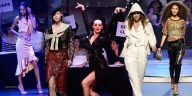Gaultier lässt in Paris die Models tanzen