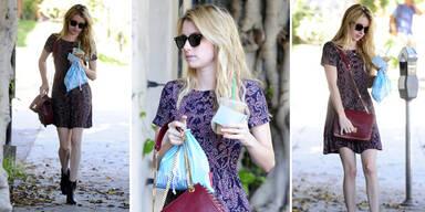 Mager-Alarm um Emma Roberts