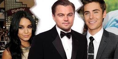 Vanessa Hudgens, Leo DiCaprio, Zac Efron