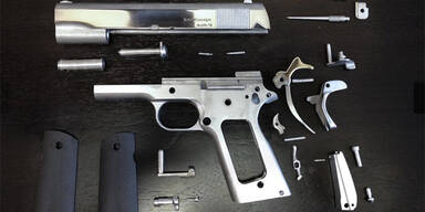 Erste funktionsfähige Pistole aus 3D-Drucker