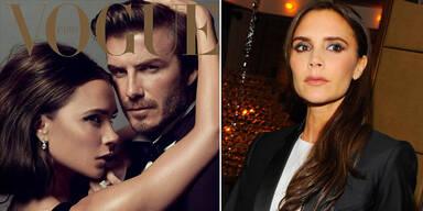 Beckham als Gast-Chefredakteurin bei Vogue