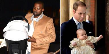 Kanye West: 'Meine Tochter ist ein Royal!'
