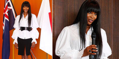 Naomi Campbell für Tsunami-Hilfe geehrt