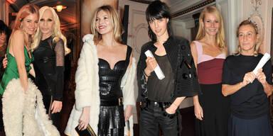 Star-Auflauf bei British Fashion Awards 2013