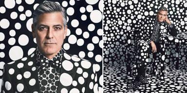 George Clooney im Pünktchen-Fieber
