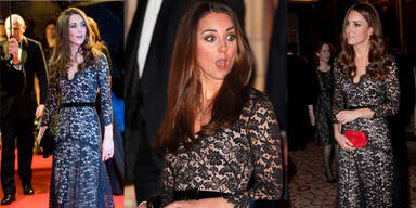 Kate: Zum 3.Mal in gleicher Robe