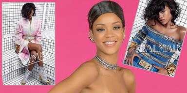Rihanna ist neues Gesicht von Balmain