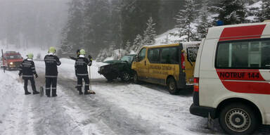 Neun Kinder bei Bus-Crash leicht verletzt