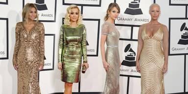 Metallic-Trend bei den Grammy Awards