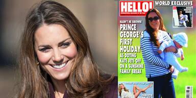Herzogin Kate: Mit Baby George in der Karibik