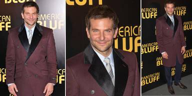 Bradley Cooper im Gehrock