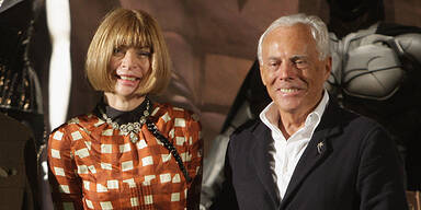 Giorgio Armani genervt von Anna Wintour: ' Sie ist unprofessionell!'
