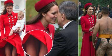 Herzogin Kate in Neuseeland