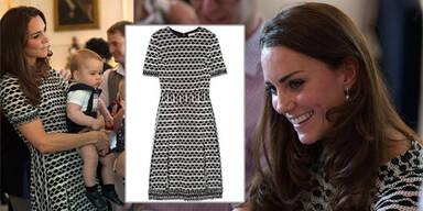 Kates Designer-Kleid binnen Stunden ausverkauft