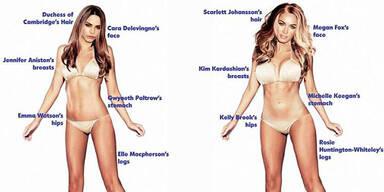 Frauen wollen dünn sein & Männer Kim-Kurven