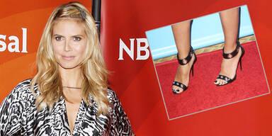 Heidi Klums Geständnis: 'Habe 2000 Paar Schuhe!'