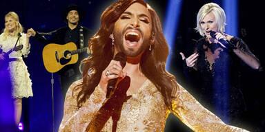 Eurovision Song Contest: The Common Linnts, Conchita Wurst, Sanna Nielsen