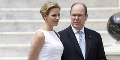 Charlene von Monaco, Prinz Albert