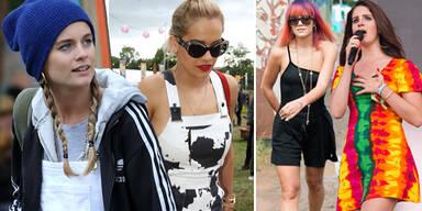 Star-Styles am Glastonbury-Festival 2014