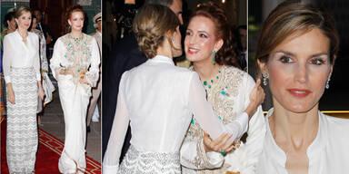 Das spanische Königspaar zu Besuch in Marokko