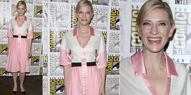 Cate Blanchett als pinke Oma