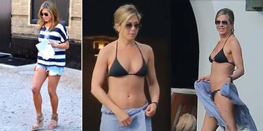 Jennifer Anistons Workout für einen Top-Body