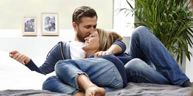 Kuscheln ist in Beziehungen beliebter als Sex