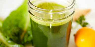 Schlank mit Spinat