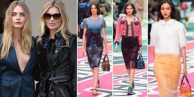 Burberry Prorsum: London Fashion Week SS15