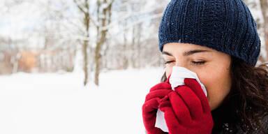 Die Top 5 der häufigsten Winterleiden