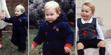 Prinz William & Prinz George: Kinderfotos