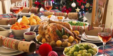 Gesunde Lebensmittel zu Weihnachten