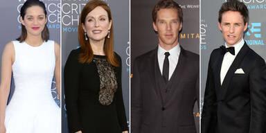 Marion Cotillard, Julianne Moore, Benedict Cumberbatch, Eddie Redmayne