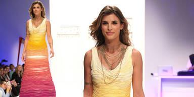 Elisabetta Canalis bei der Berlin Fashion Week