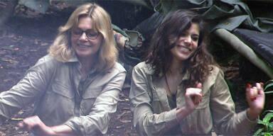 Dschungelcamp: Maren Gilzer & Tanja Tischewitsch