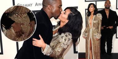 Kim Kardashian & Kanye West: Turtel-Auftritt